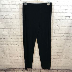 Chico's Travelers Collection Pants Black Size 2